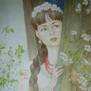 Урок 1. «Майская ночь, или Утопленница» Н.В. Гоголь (пятый класс)