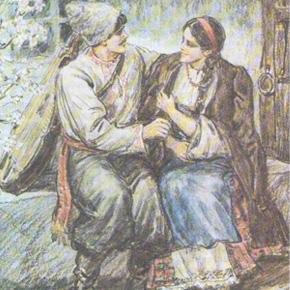 Урок 2. «Майская ночь, или Утопленница» Н.В. Гоголь (пятый класс)