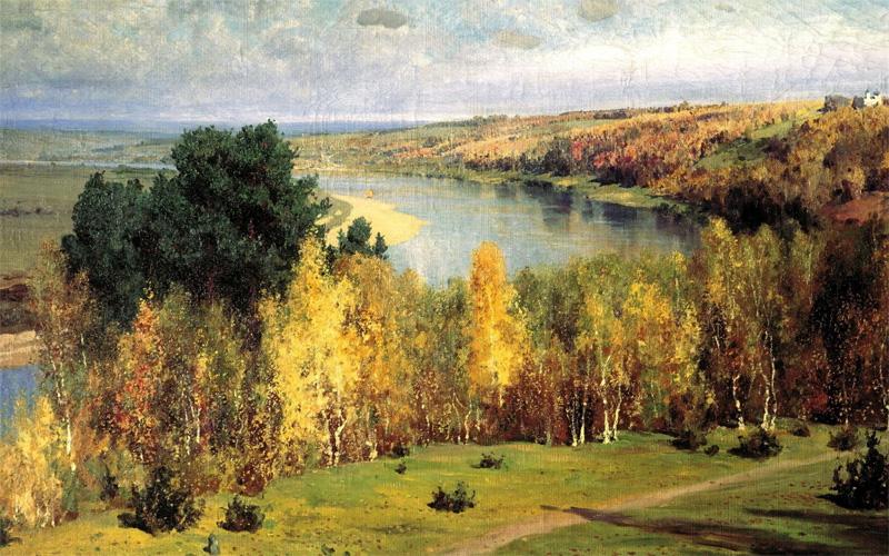 картине В.Д. Поленова «Золотая Осень»