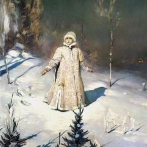 Сочинение-описание по картине В.М. Васнецова «Снегурочка»