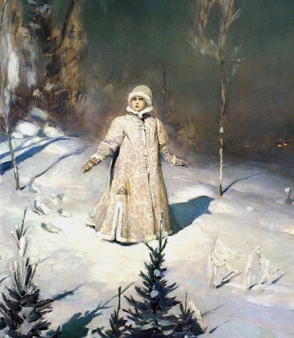 Картина В.М. Васнецова «Снегурочка»