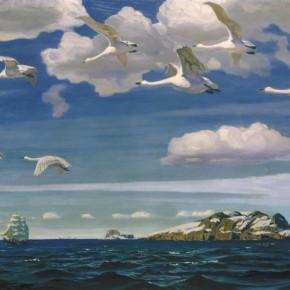 Сочинение-описание по картине Аркадия Александровича Рылова «В голубом просторе»