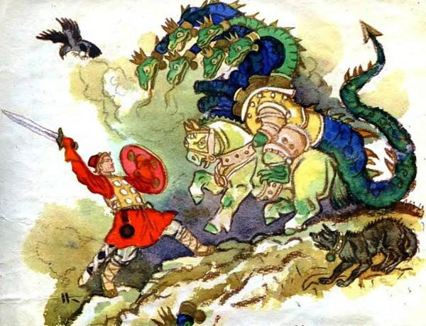 Сказка «Иван — крестьянский сын и чудо-юдо»