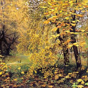 Методический материал для сочинения-описания по картине И.С. Остроухова «Золотая осень»
