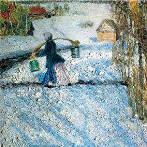 Грабарь И.Э. Мартовский снег. 1904